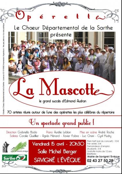 La Mascotte d'Audran 2011