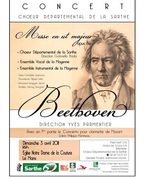 La Messe en ut de Beethoven 2011