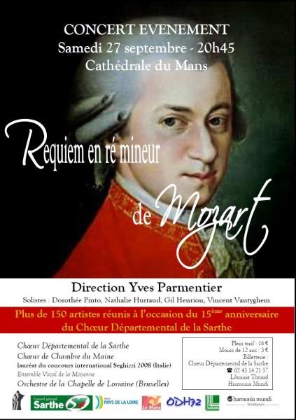 Le Requiem de Mozart