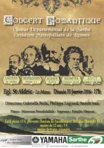 Affiche concert romantique2red